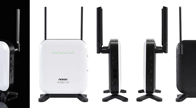 シンセイコーポレーションが新しいWiMAX 2+のホームルーター「novas Home+CA」を新発売